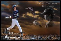 Baseball Custom Poster Templates