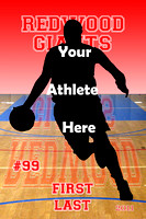 Basketball Custom Poster Templates