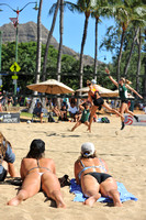 Volleyball @ Queens Beach