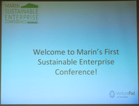 2017-10-26 Sustainable Enterprise Conference Marin
